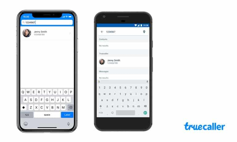 Truecaller number search name