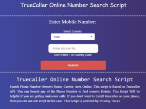 missingtricks truecaller 2018